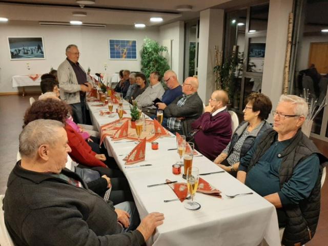 Jahresabschluss mit Gänseessen - 09.12.2019