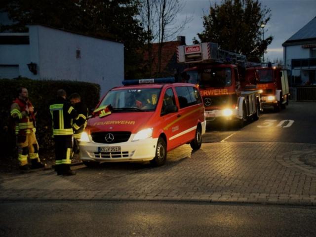 Alarmübung Feuerwehr Niestetal - 22.10.2018