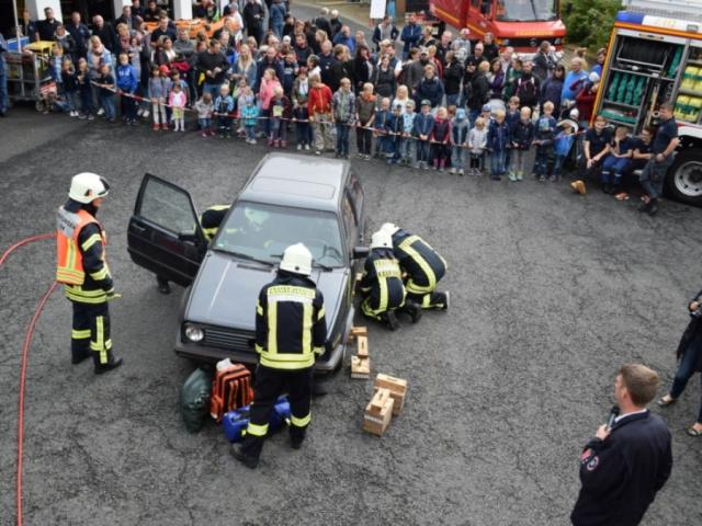 Mitmachtag im Feuerwehrstützpunkt 2019