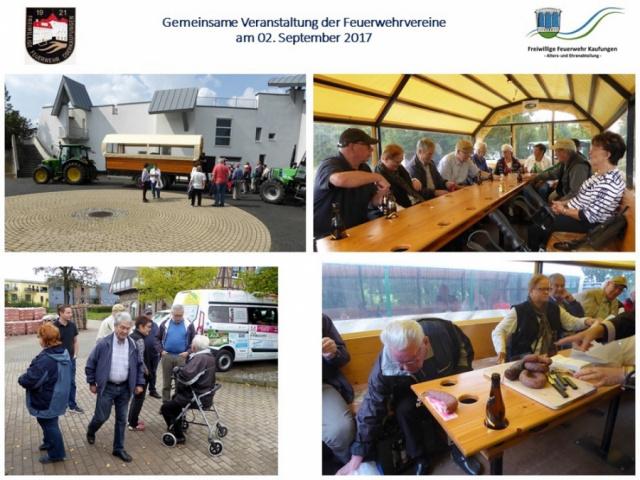 Planwagenfahrt Staufenberg 02.09.2017