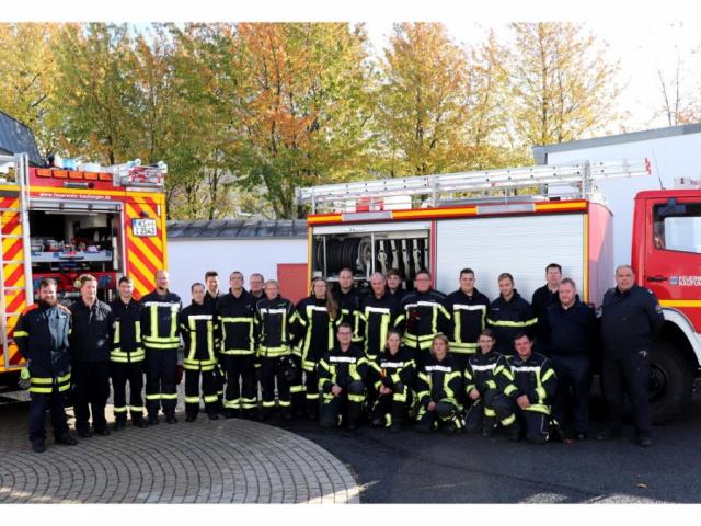 Maschinistenlehrgang im Feuerwehrstützpunkt 2019