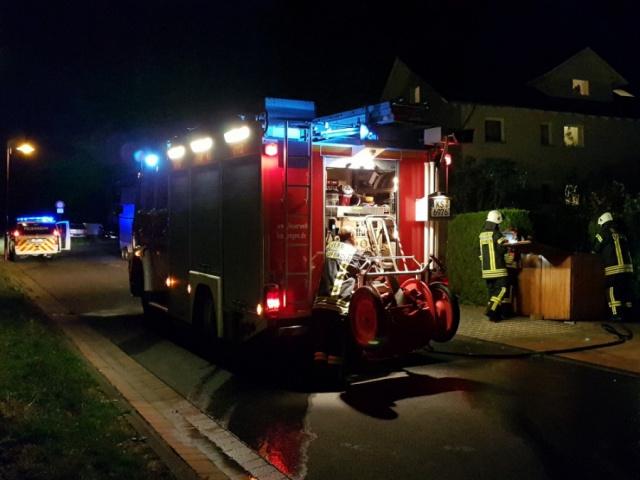 Nr. 129 - Mülltonnenbrand