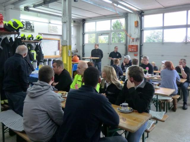 Besuch der Feuerwehr Walschleben 2019